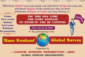 JKS initiates global Konkani survey 'Hanv Konkani'
