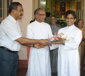 Congratulations and Best Wishes to Rev. Fr. Herald Pereira on your Birthday