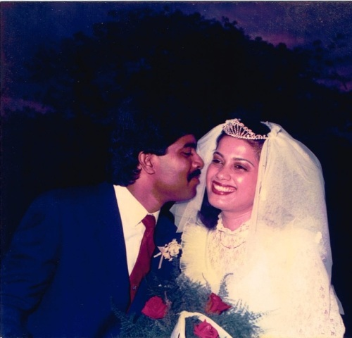 Happy Silver Wedding Anniversary to Vivian and Veronica Cornelio.