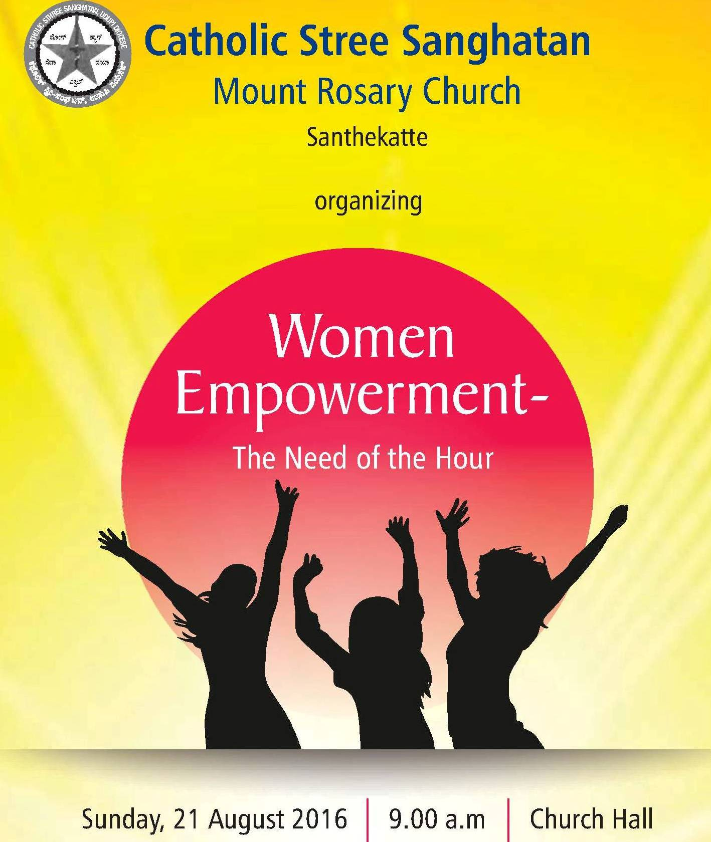 Women Empowerment Programme at Mount Rosary Kallianpur