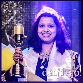 Congrats Joylene for winning the GULF VOICE OF MANGALORE-5 Title