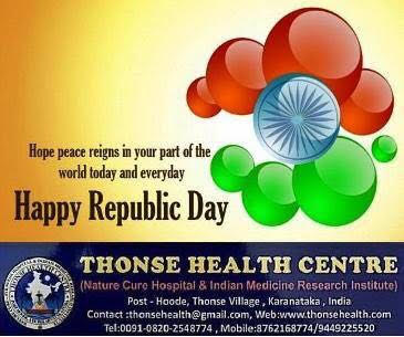 Republic Day Wishes from Thonse Health Centre