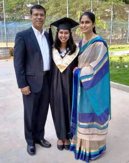 Congratulations to Daphne D'souza for Gold Medal in MBA.