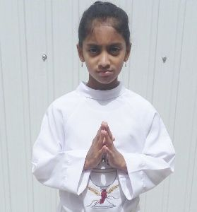 God Bless Nichelle on your First Holy Communion