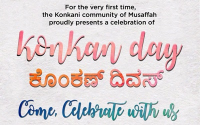 Konkani Community of St.Paul's Catholic Church, Mussafah Abu Dhabi, hosting 'KONKAN DAY' on 26th May 2017 at church.