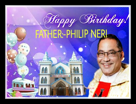 Golden Birthday Wishes to Fr. Philip Neri Aranha