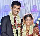Congratulations :Arun Frank and Daizy D'Souza