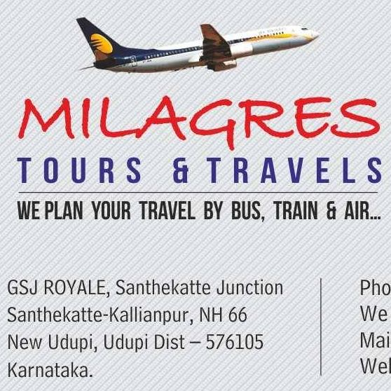 Milagres Tours and Travels upcoming Tours.