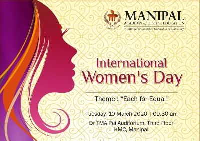 Internationa Women's Day at Manipal