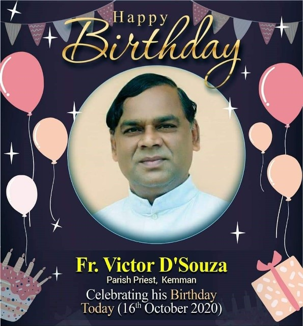 Happy Birthday to Dear Fr. Victor