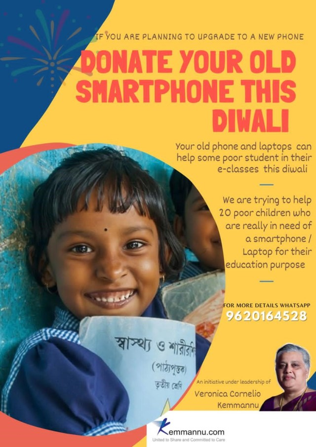 Donate Your Old Smart Phone this Diwali