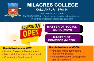 Milagres College, Kallianpur
