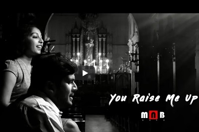 'You Raise Me Up' on YouTube recorded at Milagres Cathedral by youths of Udupi Parish.