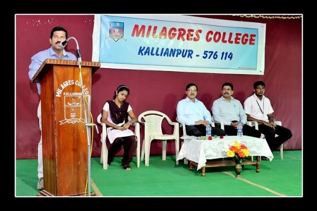 Value Education programme held at Milagres College, Kallianpur