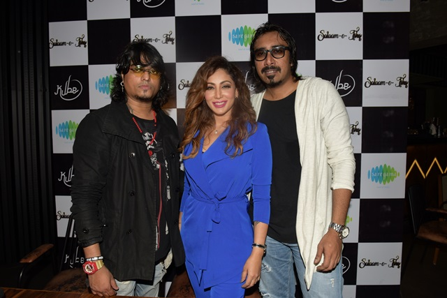 Song Launch Of Salaam E Ishq By Actor Shilpi Sharma,Arko Pravo Mukherji & Singer Jasmine Sandlas