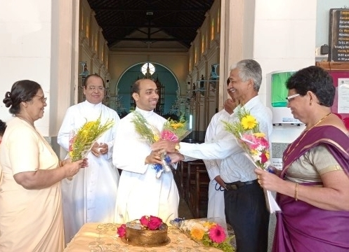 Rev Fr. Canute Noronha, Asst. PP, Milagres Cathedral, Kallianpur Celebrates Birthday