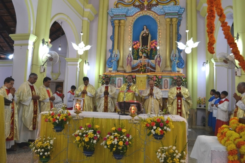 Patrons Feast Celebrated in Kemmannu Church