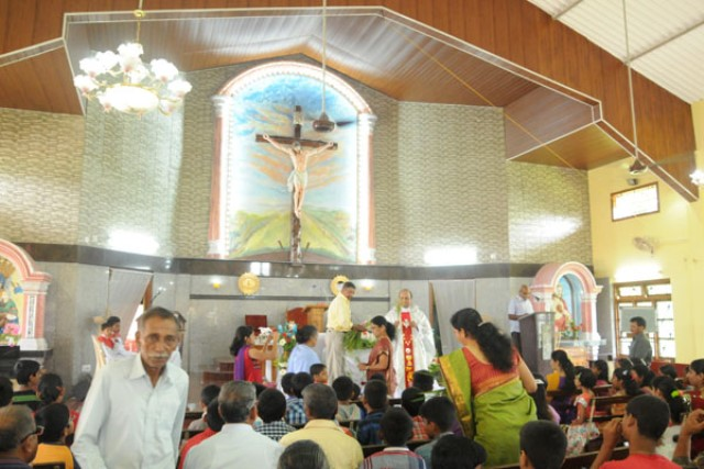 Udupi:Our lady of Fatima church Pernal
