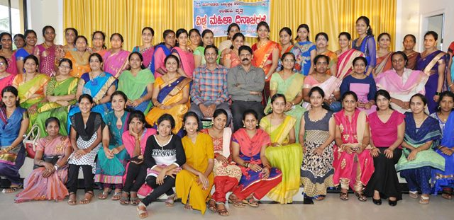 MESCOM employees Udupi celebrated women day 2017