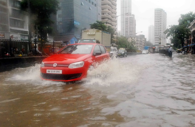 Heavy Rain Brings Mumbai To A Halt, Streets Water-Logged, Traffic Affected