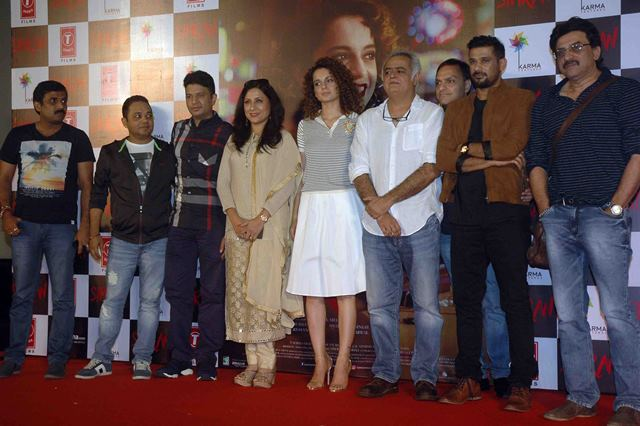 Kangana Ranaut and Hansal Mehta launch the trailer of 'Simran'