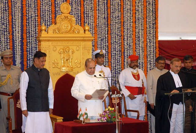 Maharashtr​a Governor K Sankaranar​ayanan was sworn Governor of Maharashtr​a for a second term