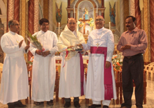 Mangalore Diocese Felicitation To The New Bishop Of Udupi Rev Dr Gerald Isaac Lobo