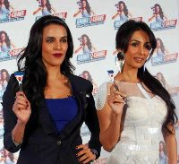 Malaika Arora, Neha Dhupia endorse clean shaven look for men