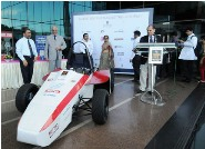 The 2010 Formula Manipal car launched