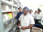 Udupi: Minister for health and family welfare U T Khadar pays surprise visit to Ajjarkad hospital
