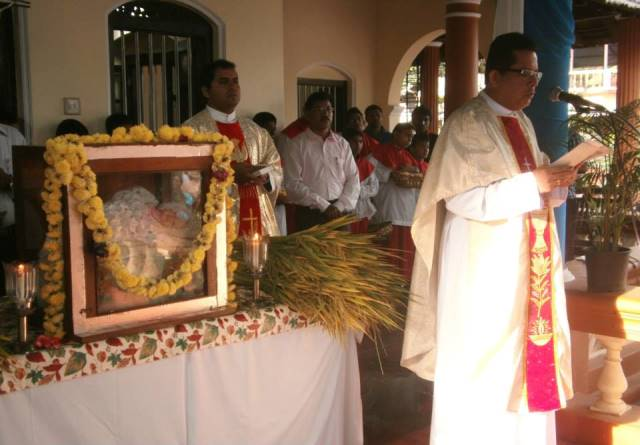 Mangalore: Monti Fest celebraation at Guardian Angels Church, Angelore