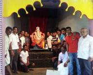 Kemmannu: 24th, Tonse 'Sarvajanika Ganeshosava' Idol Installed