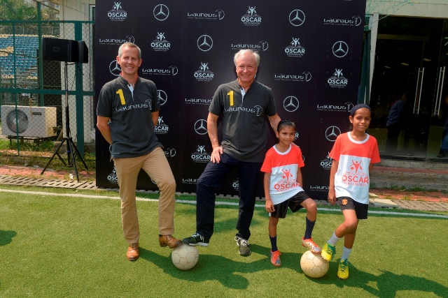Mercedes-Benz partners with Laureus Sport for Good in India