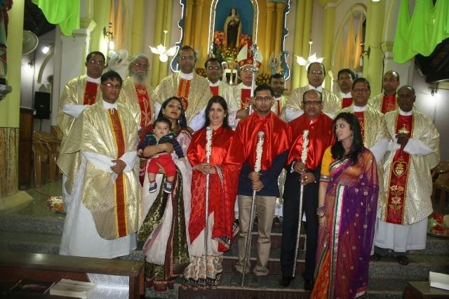 Kemmannu: Annual feast of St Theresa  Church kemmannu  celebrated with Devotion and Fervour