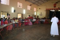 Kemmannu:Bible Quiz competition, part of the planned Parish day, held at Kemmannu Church