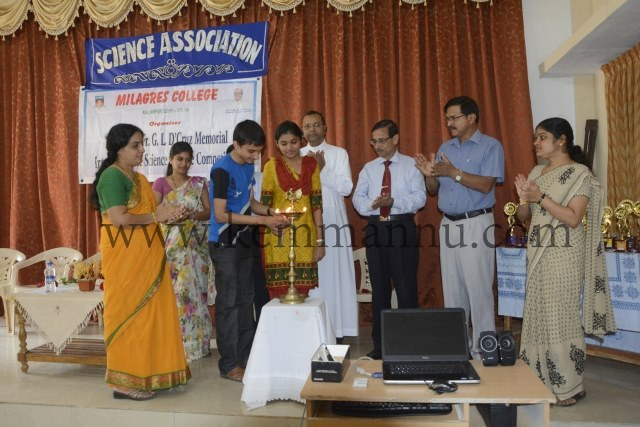 Kallianpur: Late Rev. Fr. D'Cruz Memorial Inter-Collegiate Science Competition held at Milagres College Kallianpur