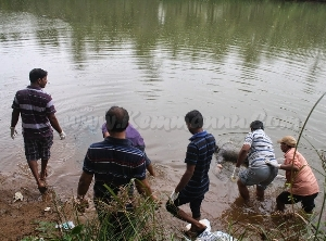 Decomposed body of youth found floating near Kemmannu Bridge
