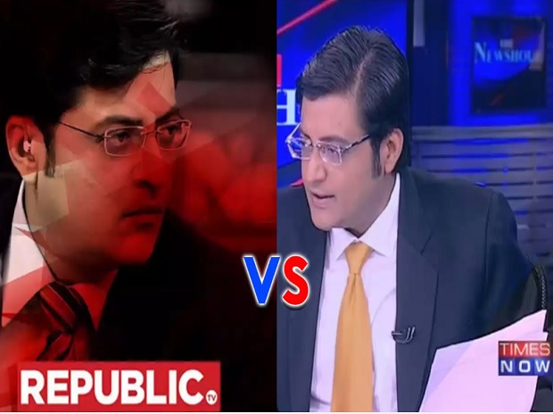 The Arnab Of Times Now Vs The Arnab Of Republic Clashing Over The Beef Ban