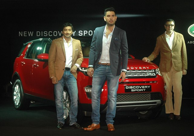 Land Rover India during Land Rover Discovery Sport Launched in India