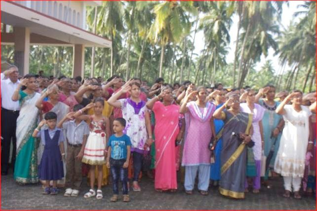 Kemmannu : Independence Day Celebration and Pratibha Puraskar at St Theresa Church Kemmannu