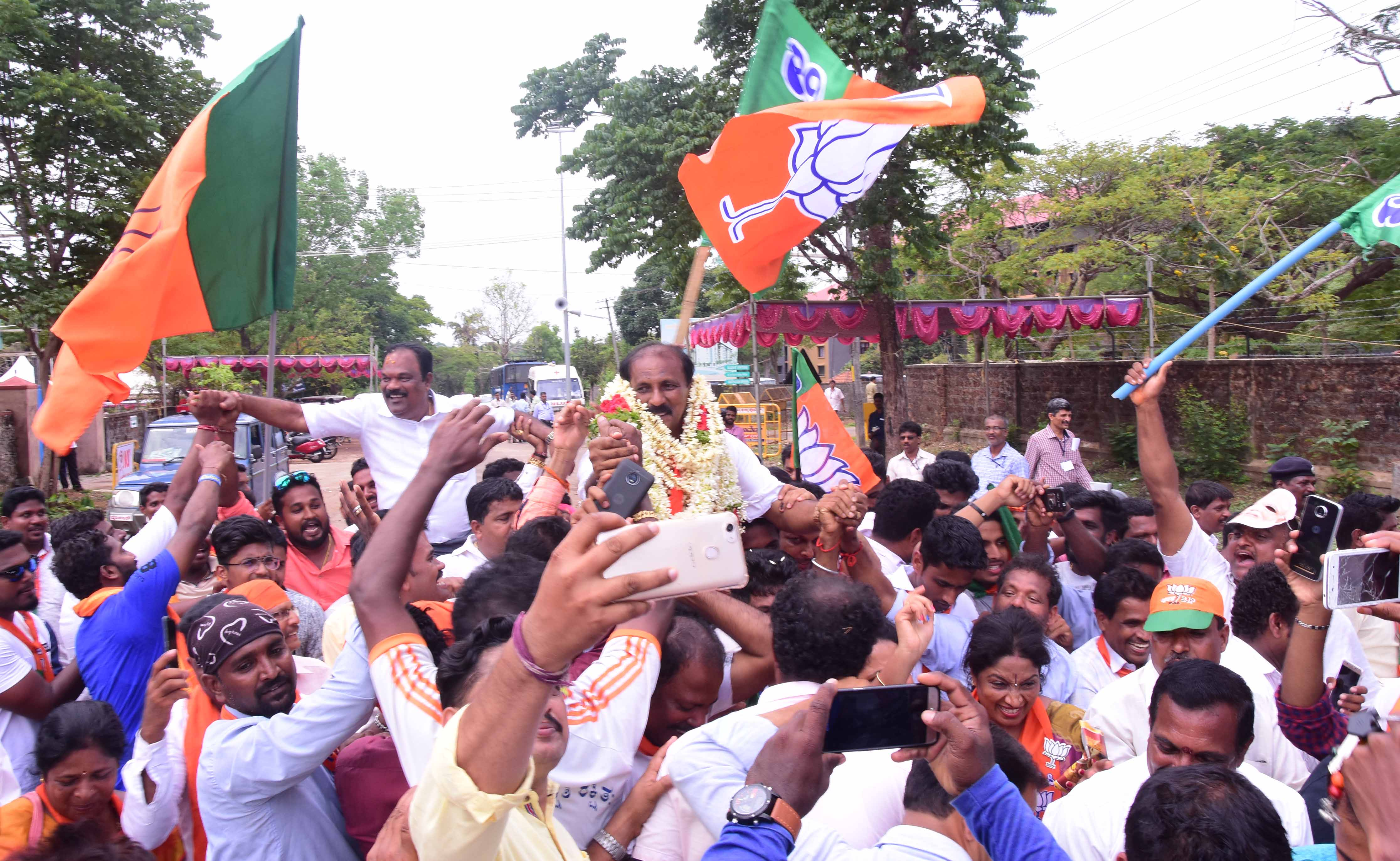BJP sweeps all five assembly constituencies of Udupi district