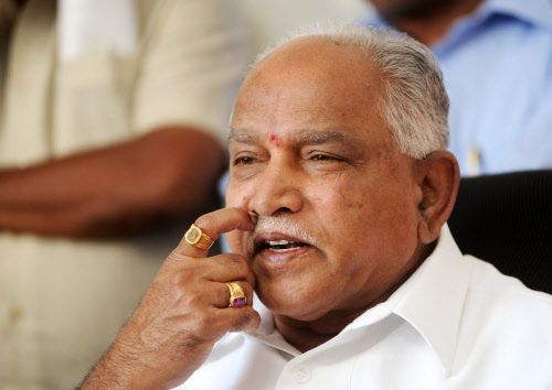 Congress winning assembly polls, good for Karnataka: Yeddyurappa