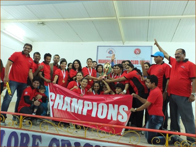 Doha: MCC creates history with 3 consecutive wins in MCC throwball tourney
