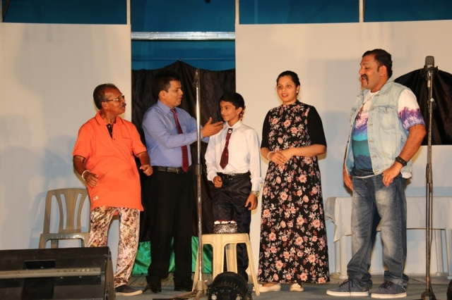 "Doha: KSC of the Holy Rosary Church Qatar organized Konkani Drama ""NATHU"""