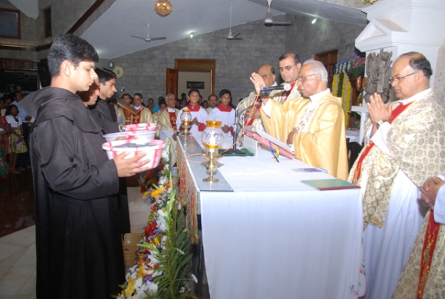 Feast of Our Lady of Mount Carmel celebrated at Bikarnakatte