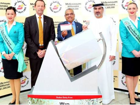 Indian expat from Bangalore wins $1 million in latest Dubai Duty Free raffle