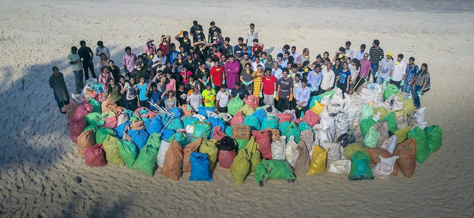 Beach Cleaning Drive at Hoode Beach