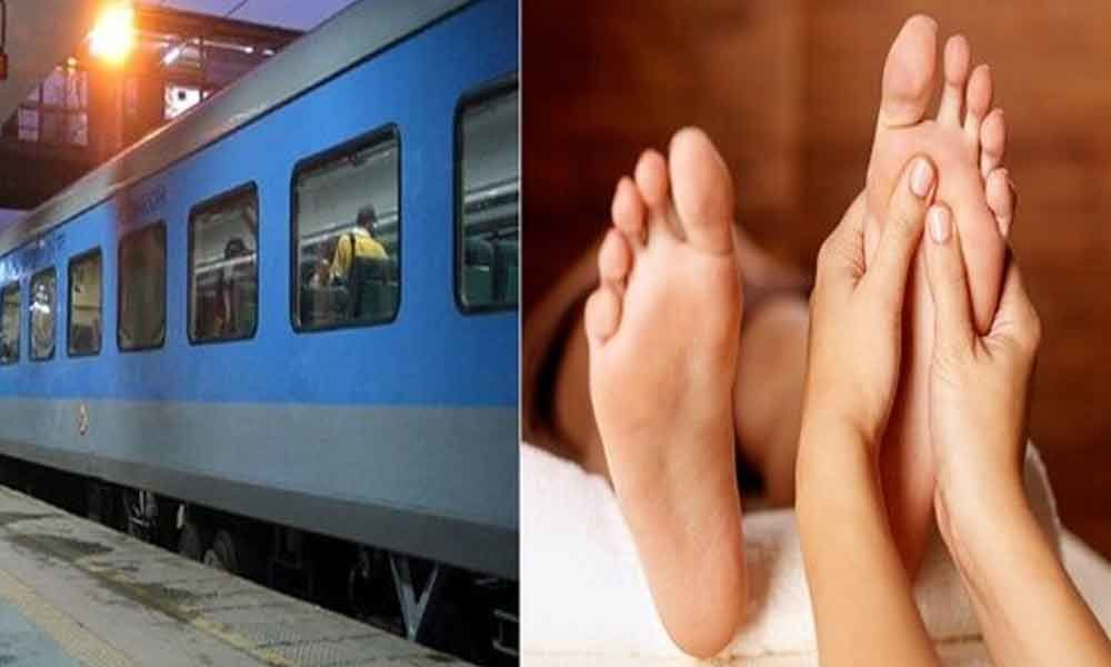 Railways withdraws proposal to offer massage to passengers