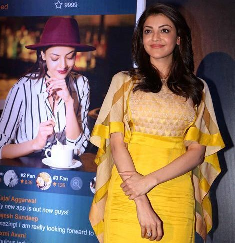 Kajal Aggarwal launches her own app to connect with fans