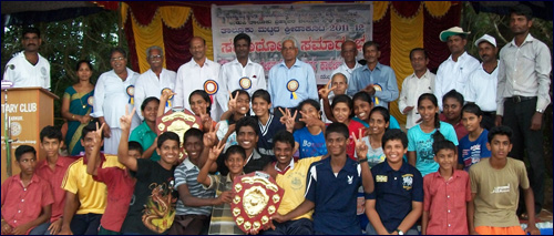 Milagres English High School bags Overall Champians in Athletics at Barkur